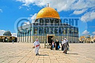 Jerusalem Old City Dome Of The Rock 011