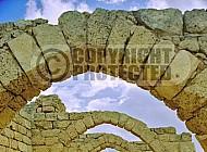 Caesarea Roman Arches 009