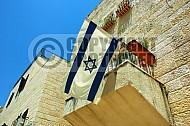 Israel Flag 054