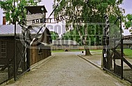 Auschwitz Camp Gates 0017