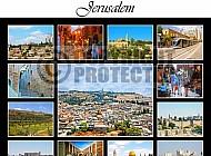 Jerusalem Photo Collages 003