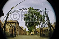 Auschwitz Camp Gates 0003