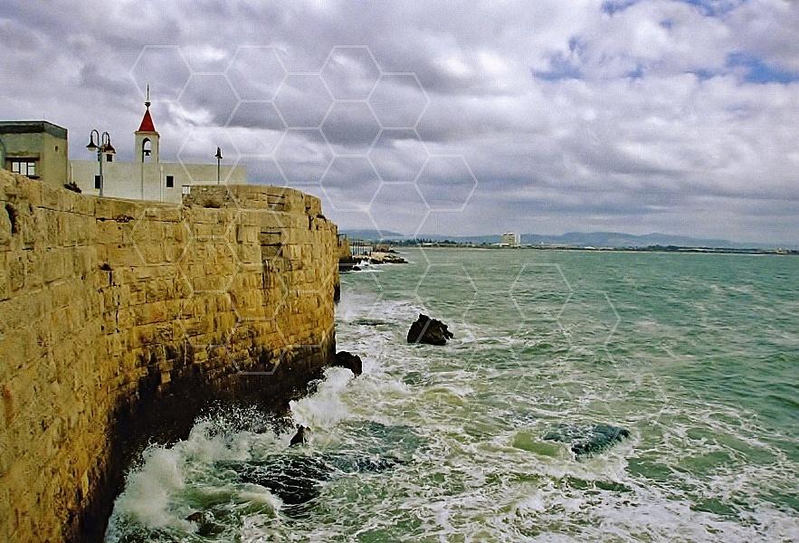 Akko Sea Wall 0005