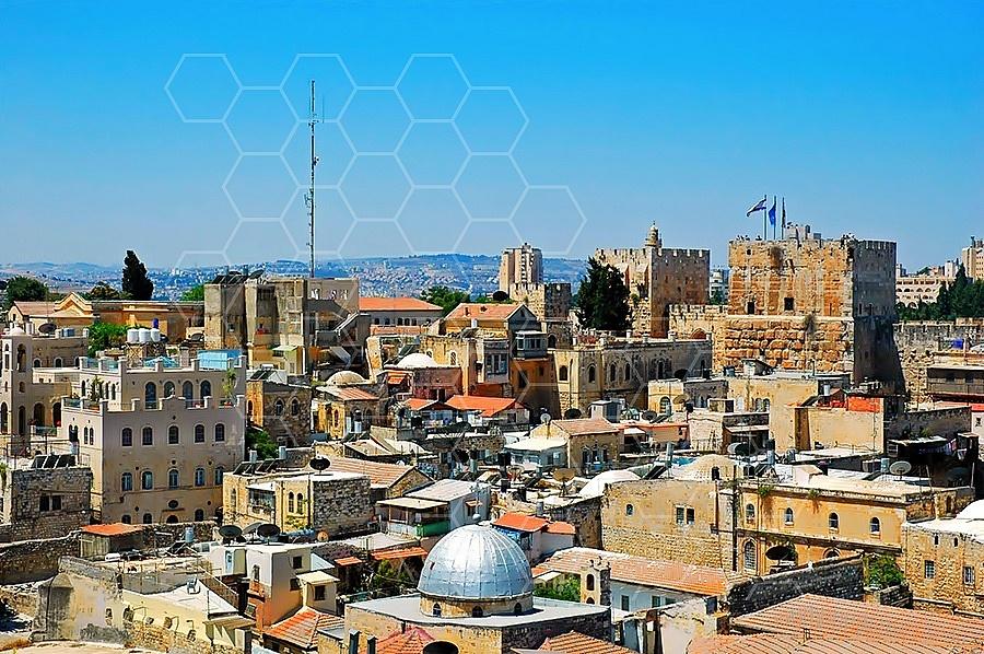 Jerusalem Old City View 007