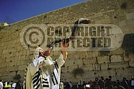 Kotel Blowing The Shofar 0003