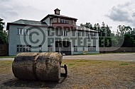 Sachsenhausen Roller In Front of Headquarters 0001