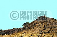 Tel Hazor City Walls 002