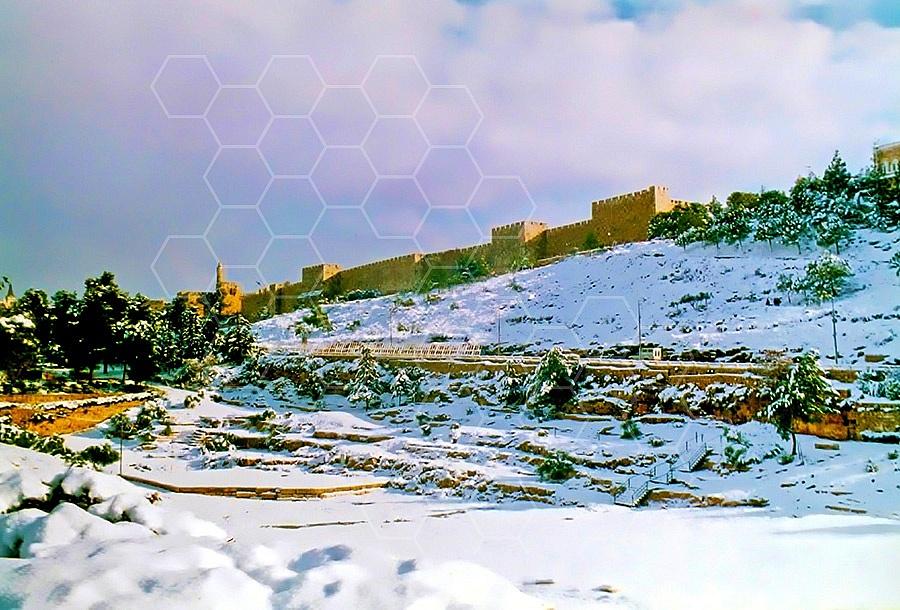 Jerusalem Snow 004