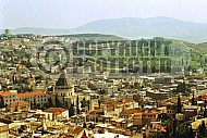 Nazareth City View and Basilica of The Annunciation 0001
