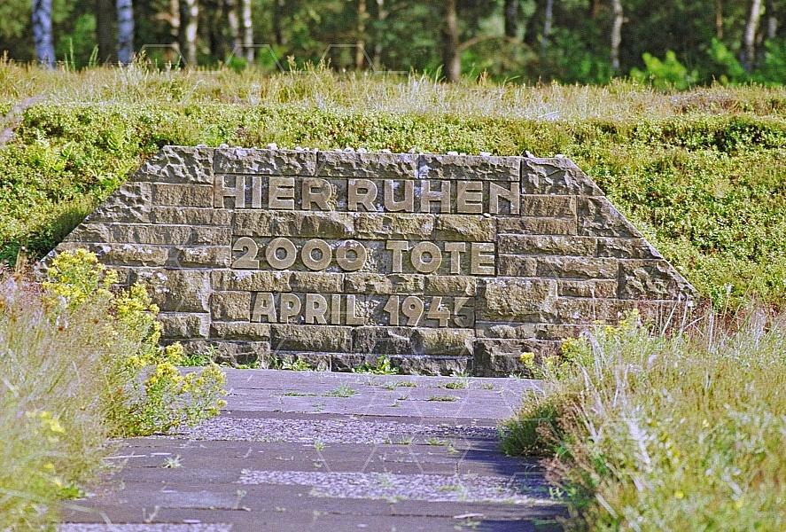 Bergen Belsen Memorial for Barracks 0008