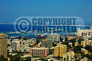 Haifa City View and Sea Port 0002