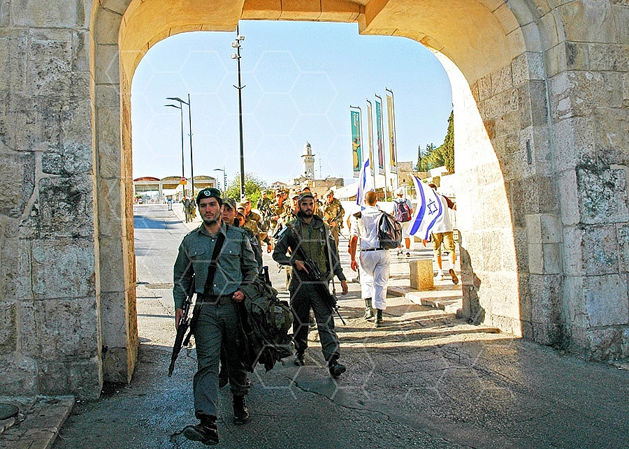 Jerusalem Old City Dung Gate 004