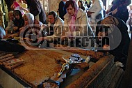Jerusalem Holy Sepulchre Stone Of Anointing 007