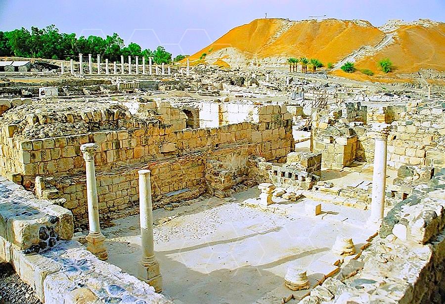 Beit She'an Roman Ruins 013