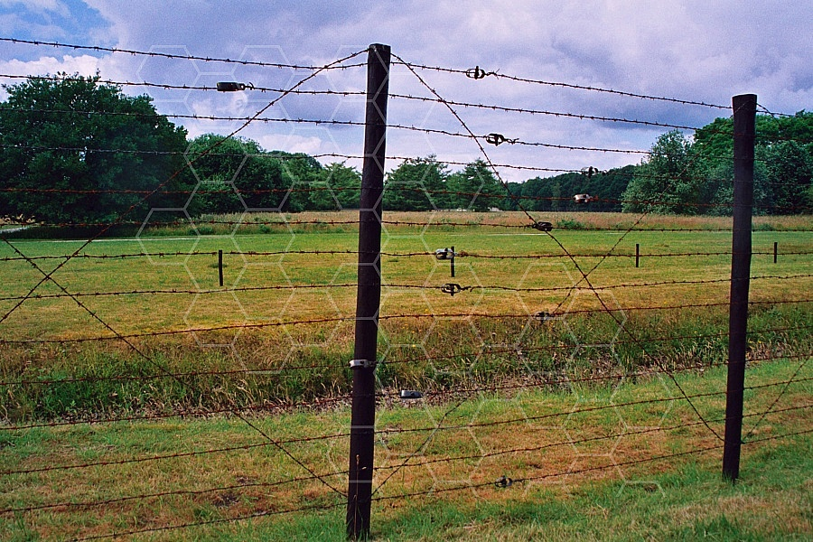 Westerbork Barbed Wire Fence 0001