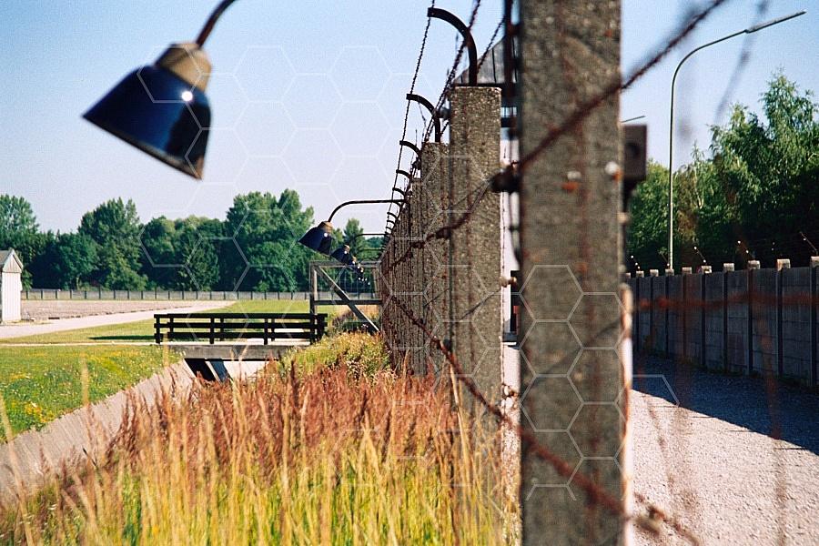 Dachau Barbed Wire Fence 0009