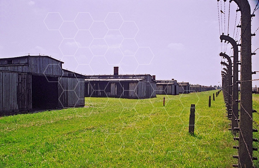 Birkenau Camp Barracks 0009