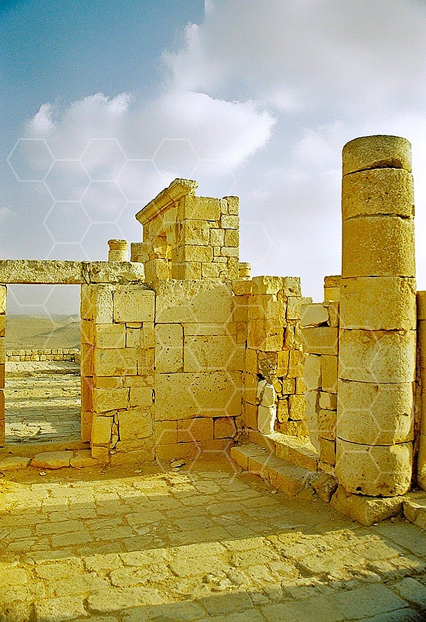 Avdat The Nabatean Temple 013