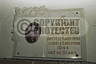 Nordhausen (Dora-Mittelbau) Memorial to Inmate 0001