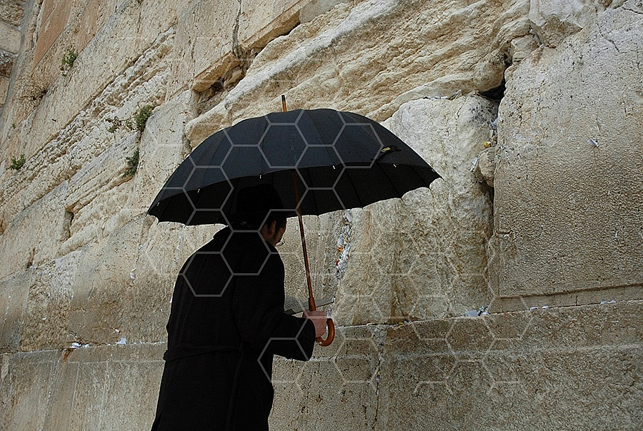 Kotel Man Praying 176