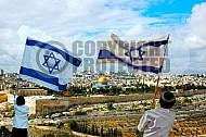 Israel Flag 028