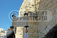 Kotel Torah Praying 039