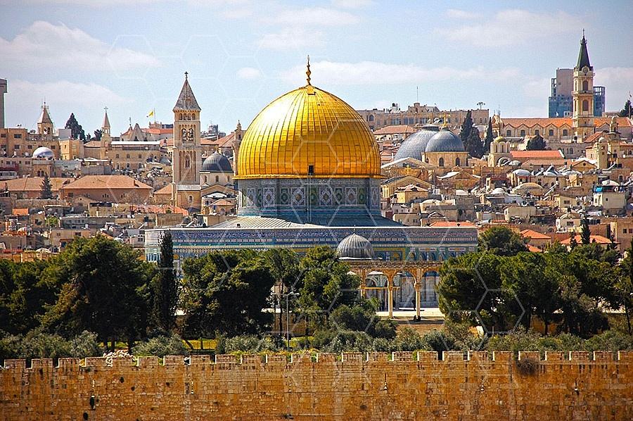 Jerusalem Old City Dome Of The Rock 007
