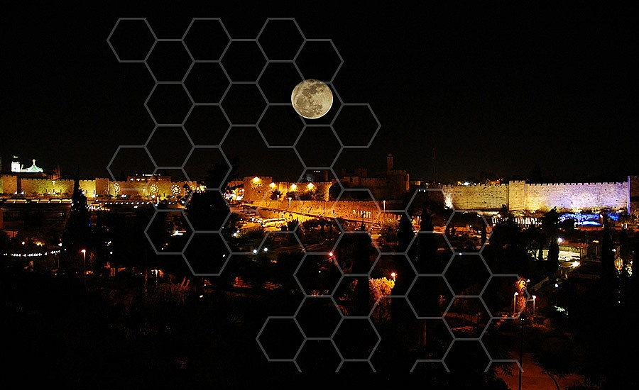 Jerusalem Old City View 001