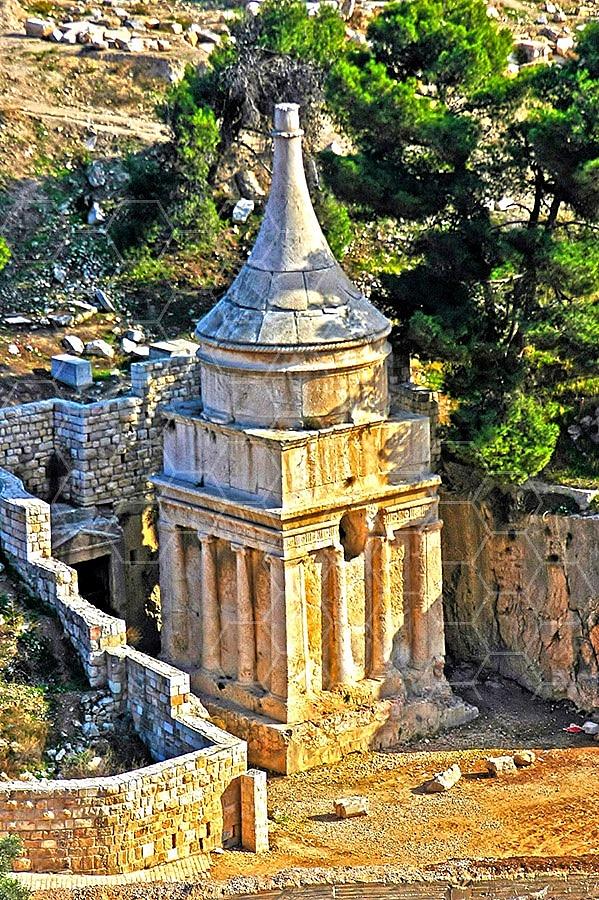 Jerusalem Absalom Tomb 012