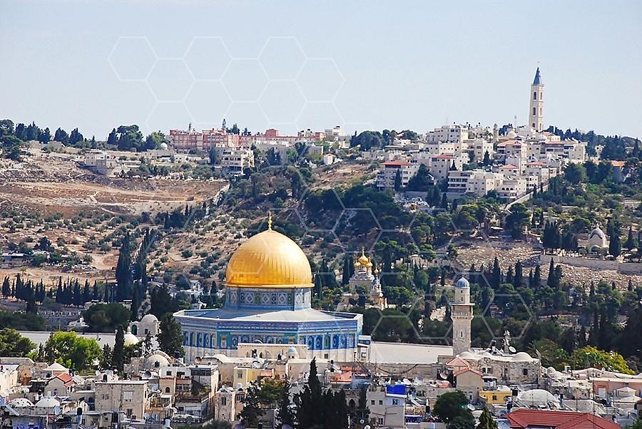 Jerusalem Old City Dome Of The Rock 023