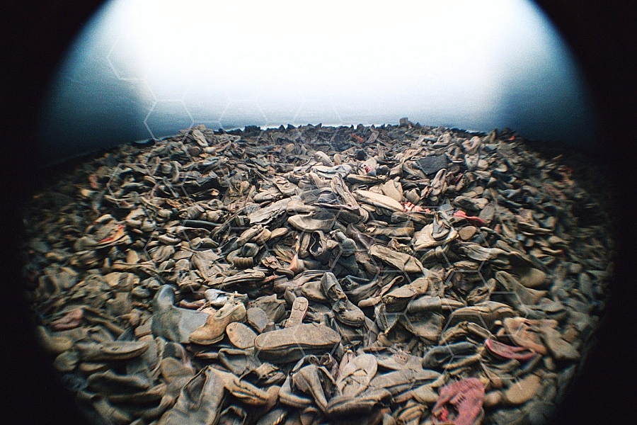 Auschwitz Shoes from Inmates 0011