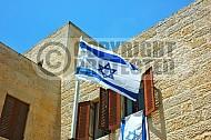 Israel Flag 057