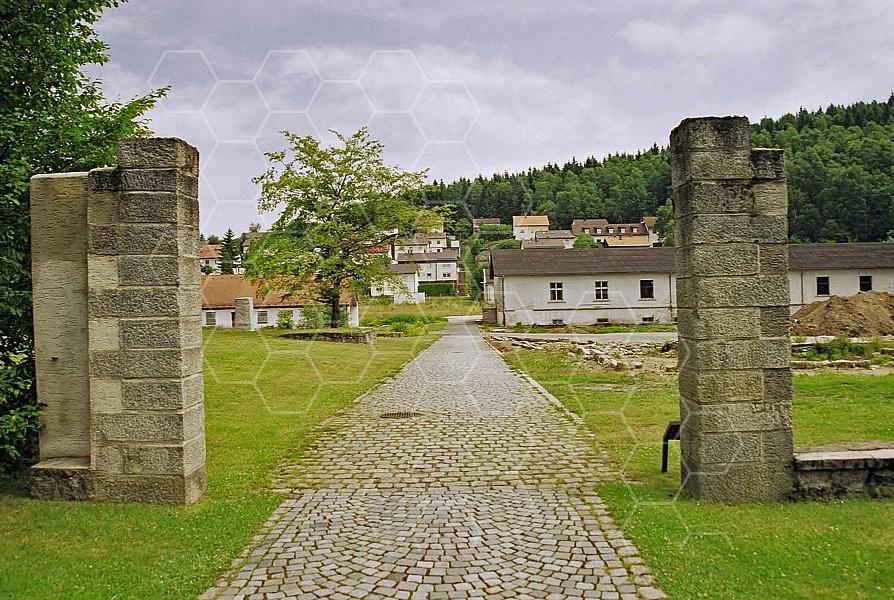 Flossenbürg Entrance Gate 0003