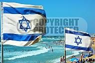 Israel Flag 045