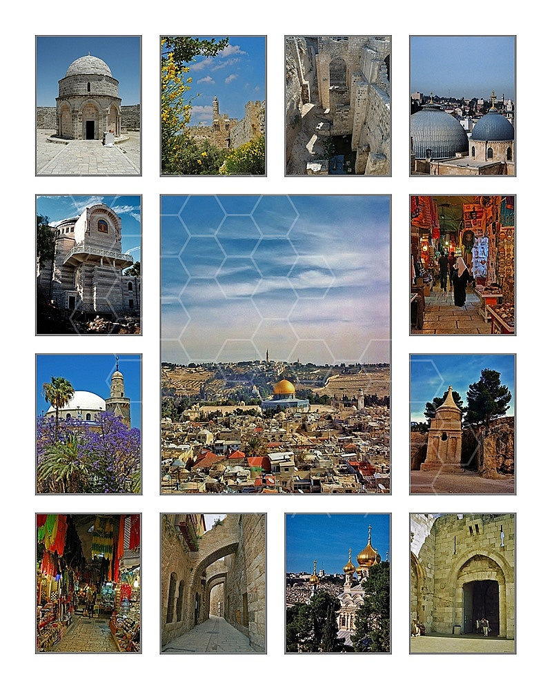 Jerusalem Photo Collages 025