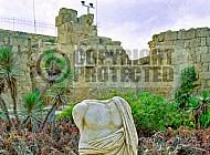 Caesarea Roman Statue 003
