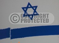 Israel Flag 072
