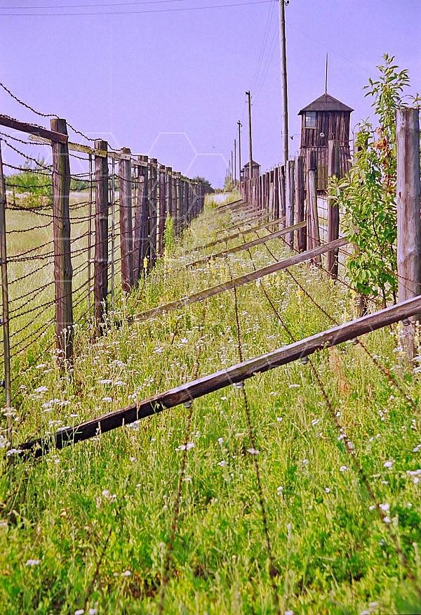 Majdanek Barbed Wire Fence 0006