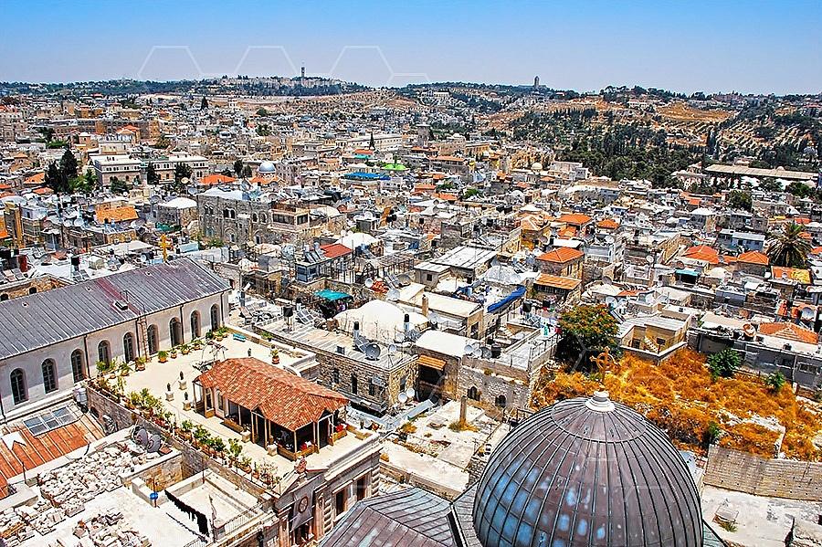Jerusalem Old City View 015