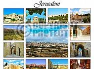 Jerusalem Photo Collages 009