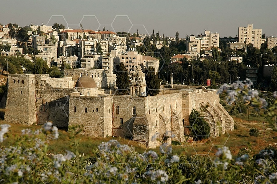jerusalem Valley of The Cross 0001