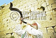 Kotel Blowing The Shofarf 028