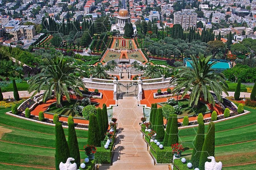 Haifa Baha I Gardens 0004