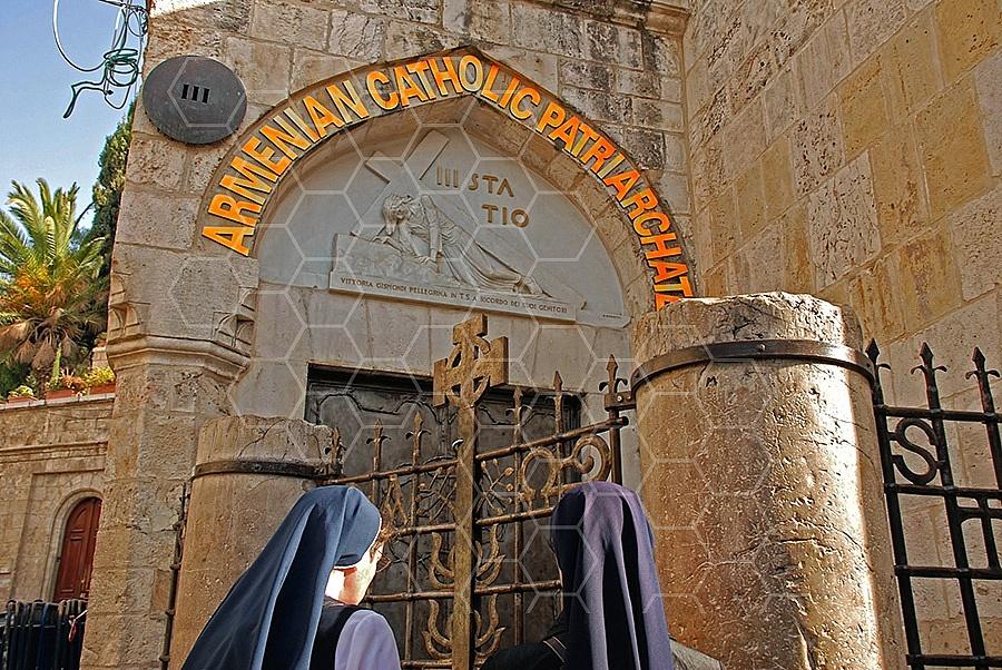 Jerusalem Via Dolorosa Station 3 - 001