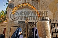 Jerusalem Via Dolorosa Station 3 - 001