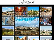Jerusalem Photo Collages 006