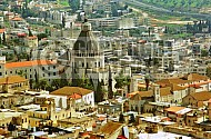 Nazareth City View and Basilica of The Annunciation 0003