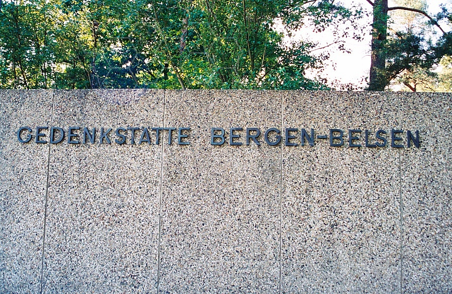 Bergen Belsen Camp Gate 0001