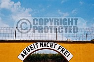 Terezin Courtyard and Entrance Gate 0006