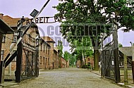 Auschwitz Camp Gates 0007